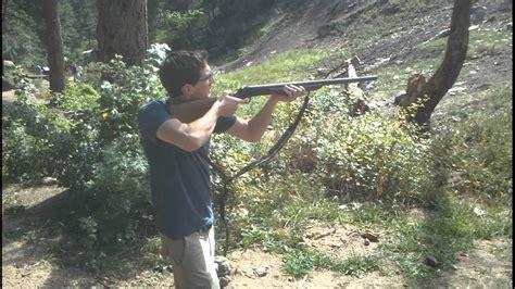 Kid Shoots 10 Gauge Shotgun