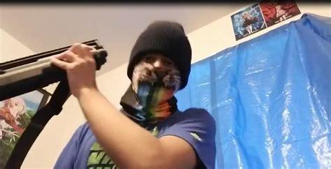 Kid Shoots Himself With Shotgun On Youtube Live