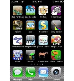 Kid Iphone Apps