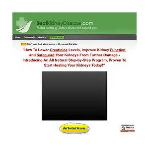 Kidney disease kidney treatment beatkidneydisease com home reviews