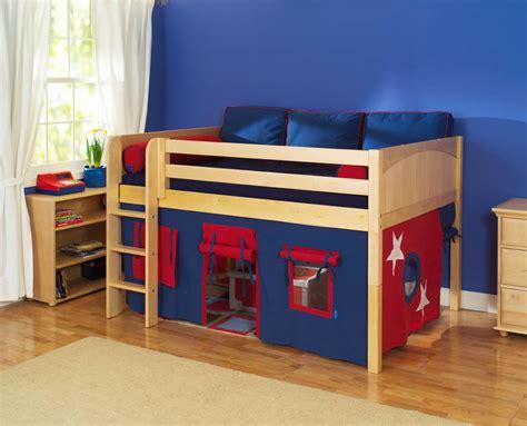 Kids Low Loft Bed