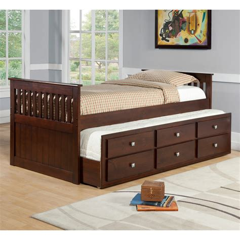 Kids Twin Trundle Beds