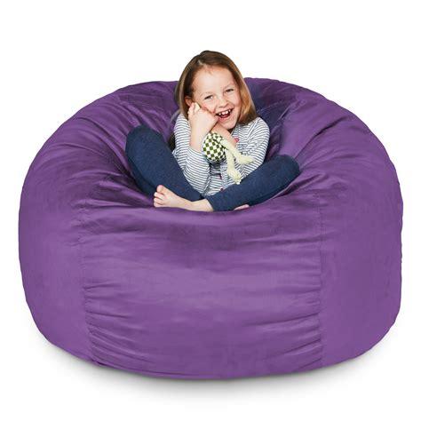 Kids Upholstered Bean Bag Chair