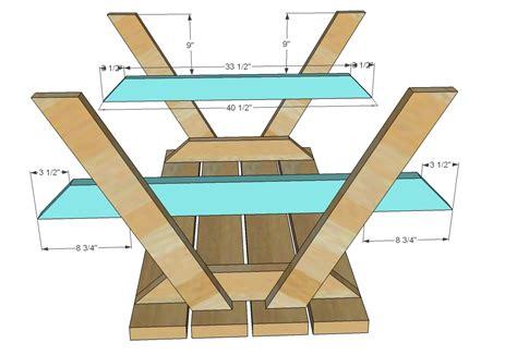 kids wooden picnic table plans.aspx Image