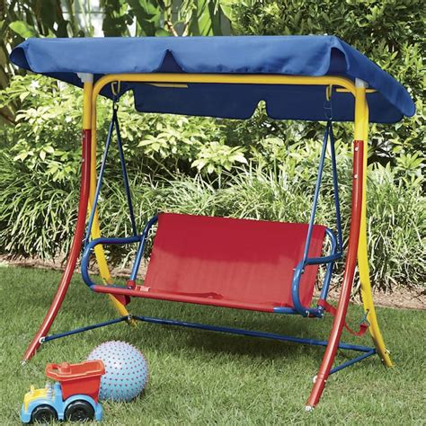 Kids canopy swing Image