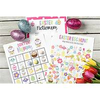Kids easter activities printable easter activities and games cheap