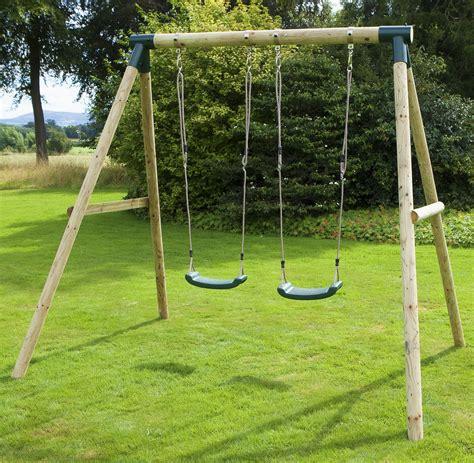 Kids lawn swing Image