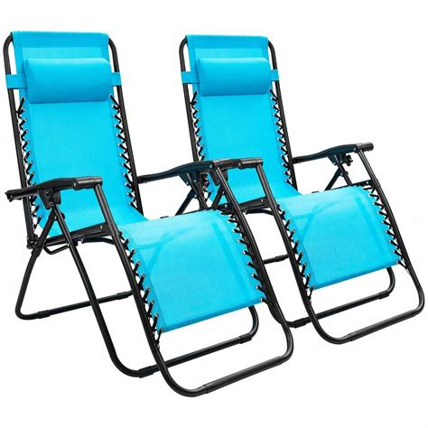 Kidsgrove Adjustable Reclining Zero Gravity Chair (Set of 2)