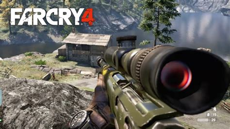 Kill Two Commanders With A Sniper Rifle Far Cry 4 And Krysae Sniper Rifle Vs Black Widow