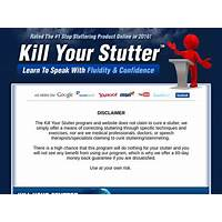 Kill your stutter program secret