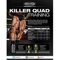 Killer quads leg training program for men and women instruction