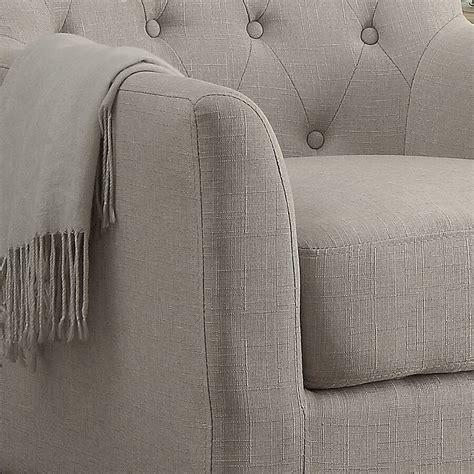 Kilmersdon tufted armchair by varick gallery Image