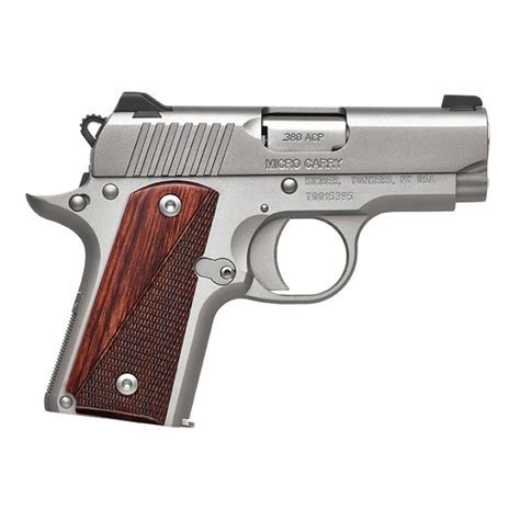 Kimber Mfg 1911 Micro Ss Rosewood 380 Acp 2 75in 380 Auto And Mossberg 500 12gauge Shotgun Followers Brownells