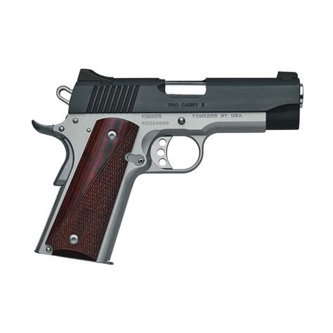 KIMBER MFG 1911 PRO CARRY II 9MM 4IN 9MM BLACK SILVER 9