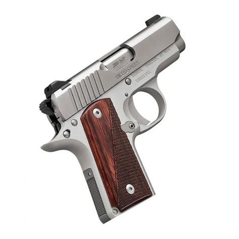 Kimber Micro Stainless Rosewood 380 Acp 2 75in 7rd Semi
