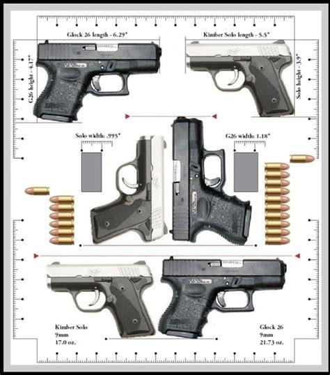 Kimber Solo Carry Vs Glock 26 And Nutnfancy Glock 17 Gen 4