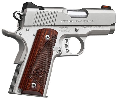 Kimber Ultra Carry Ii Compact 45 Acp 1911 Pistol New In