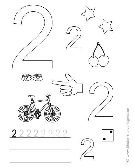 Kinder Malvorlagen Com Zahlen