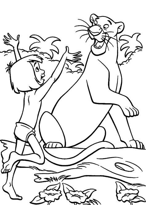 Kinder Malvorlagen Dschungelbuch