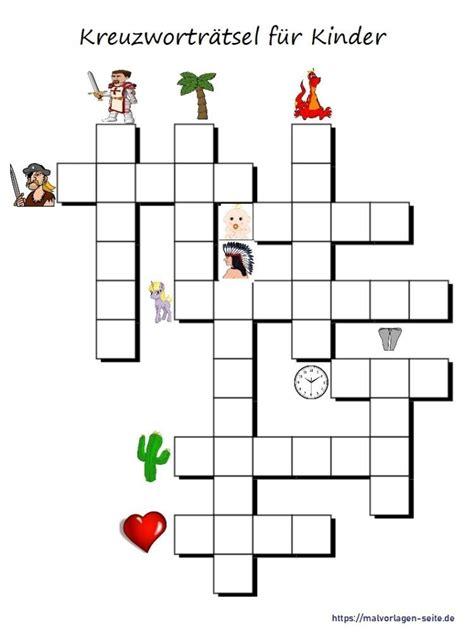 Kinder Malvorlagen Kreuzworträtsel