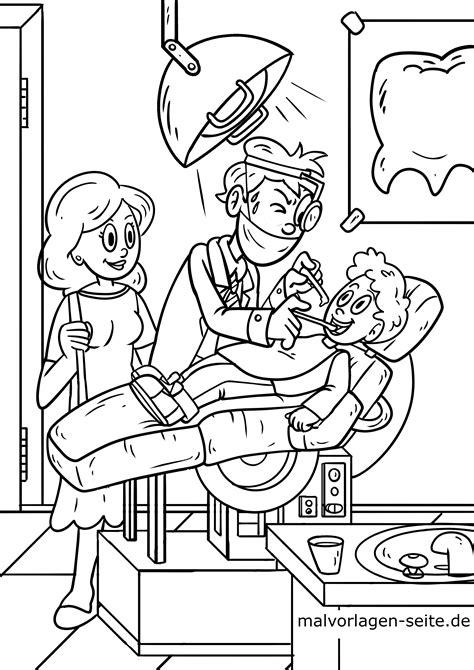 Kinder Malvorlagen Zahnarzt