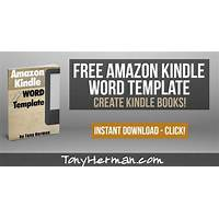 Best kindle template for microsoft word