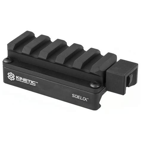 Kinetic Development Group Sidelok Universal Scope Riser Short Universal Riser Black