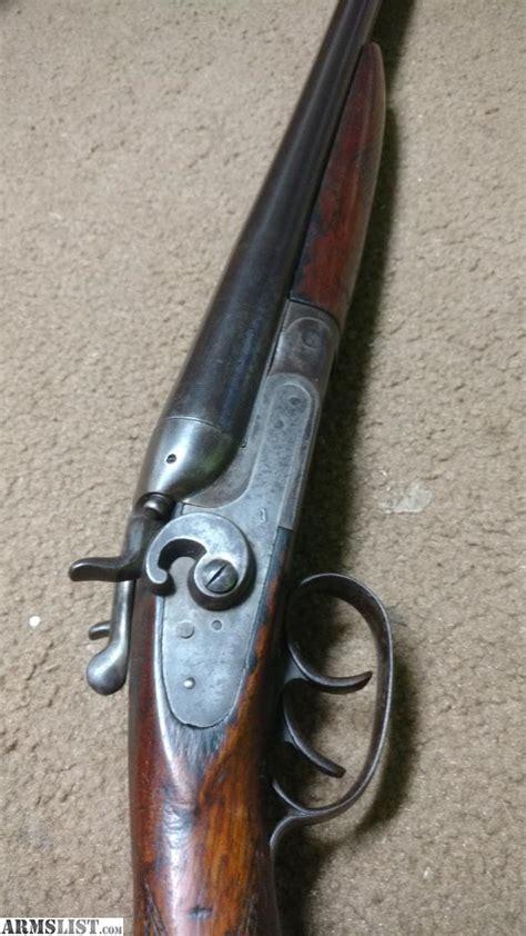 King Nitro 12 Gauge Double Barrel Shotgun
