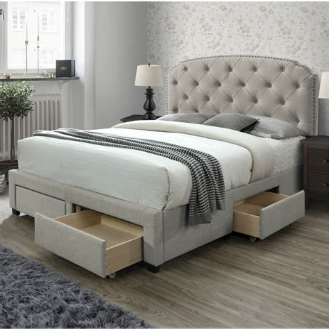 King bed and frame Image