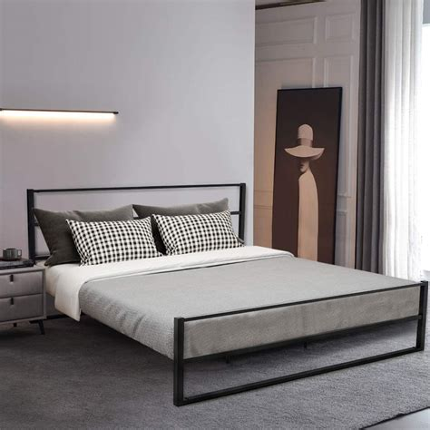 King bed frame design Image