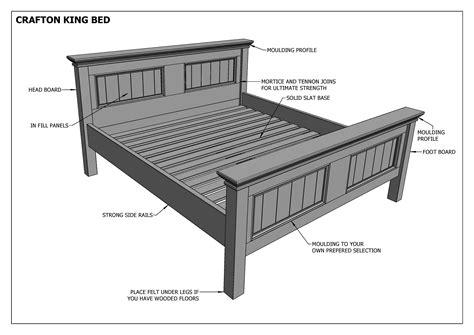 King bed plans Image