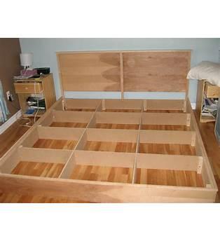 King Size Platform Bed Building Plans