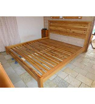 King Size Timber Bed Plans