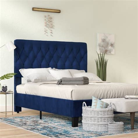 Kirtley Upholstered Panel Bed