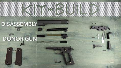 Kit Build Disassembly Donor Gun Tokyo Marui M1911a1 Airsoft
