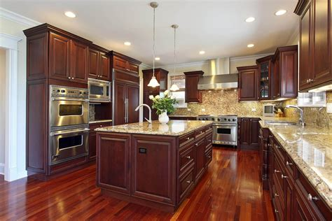 Kitchen Cherry Cabinets Iphone Wallpapers Free Beautiful  HD Wallpapers, Images Over 1000+ [getprihce.gq]