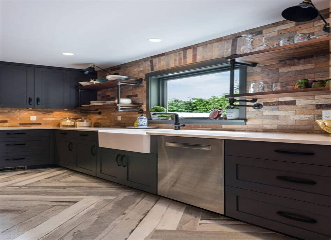 Kitchen Ideas With Dark Cabinets