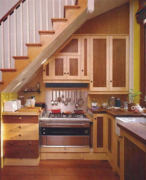Kitchen Under Stairs Design