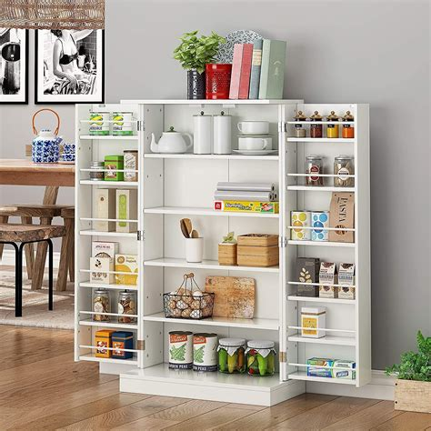 Kitchen cabinets for storage Image