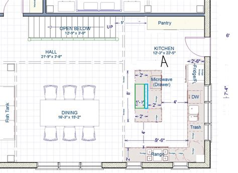 Kitchen Island Dimensions With Sink Image