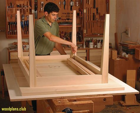Kitchen table plans woodworking Image