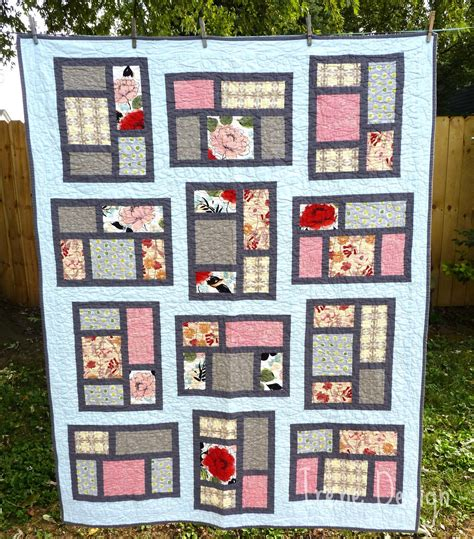 Kitchen window quilt pattern Image