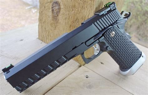 Kjworks Kp06 1911 Hicapa Blowback Airsoft Pistol Table Top Review