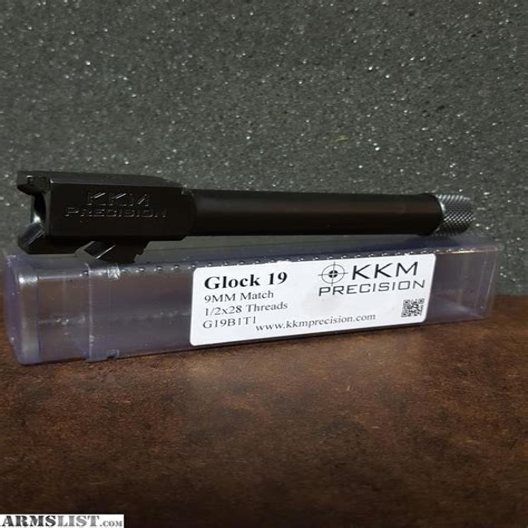 Kkm Precision Match Grade Barrel For Glock