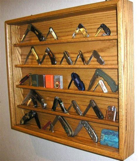 Knife display case woodworking plans Image