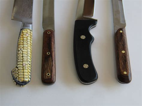Knife handle making Image