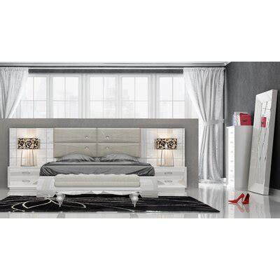 Knorr Panel 5 Piece Bedroom Set