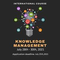Knowledge management online methods
