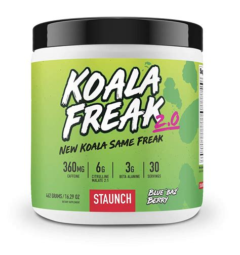 koala freak pre workout
