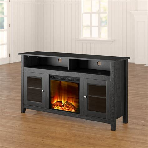 "Kohn TV Stand for TVs up to 60"" with Electric Fireplace"
